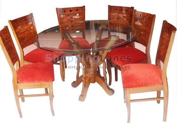 Wood plaza furniture abhimanupuram manik baugh sinhagad for Dining hall furniture