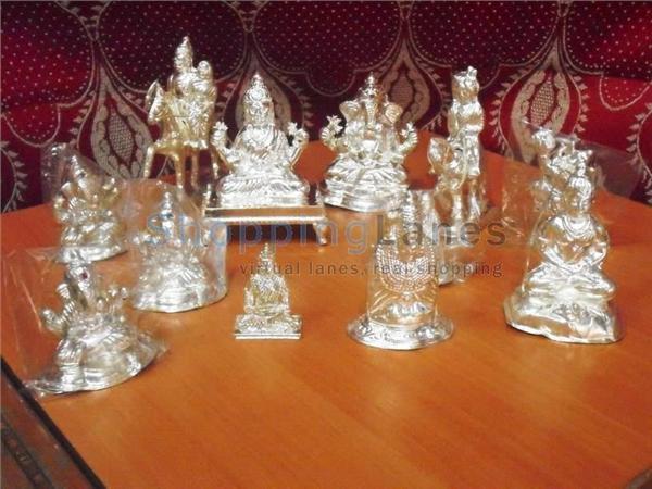 Silver idols online shopping